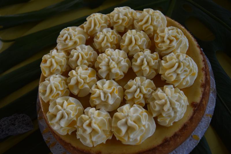 3 - Lilikoi Mousse Cheesecake - Lori Reyes