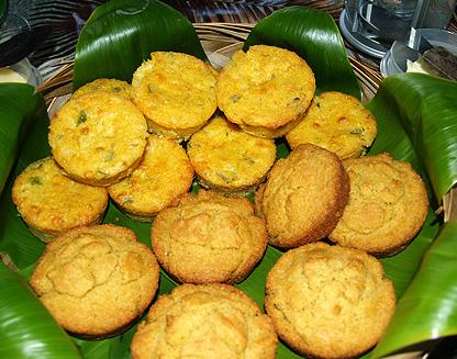 Soup & Bread - Brenda's Mexican & Southern style cornbread muffins