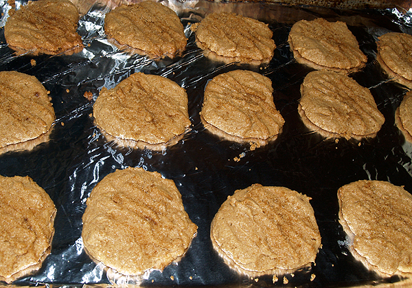 Flourless PB cookies - 3