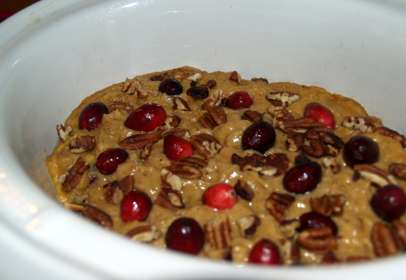 Pumpkin-Cranberry Bread 1