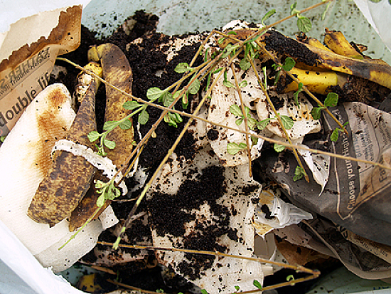 House waste composting